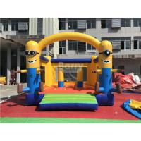 Cheap Commercial Inflatable Minions Bounce House For Clearance , Inflatable Bouncer Trampoline for sale