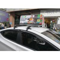 Buy cheap Automatically Vivid video Taxi Led screen Brightness Adjust Double Side Aluminum from wholesalers