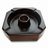 Cheap Wooden Ashtray, Customized Designs are Accepted, Good Flexibility and Toughness for sale