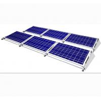 China Highly Flexible Flat Roof Ground Mount Solar PV Mounting Systems Anodized Alumiunm on sale