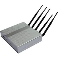 Cheap Professional Remote Control 35dBm Mobile Jammer Device 3G 2110-2170MHZ for sale