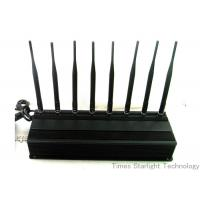 Cheap 8 Antennas 4G GPS WiFi Cellphone Jammer / UHF VHF Lojack Cellular Signal Blocker wholesale
