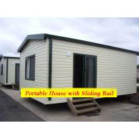 Cheap Comfortable Family Portable Modular Homes Movable With Galvanized Painting Surface for sale
