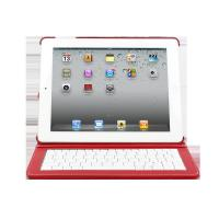Cheap Waterproof Wired ABS Keyboard samsung galaxy tab leather Case for iPad 2 screen can rotate for sale