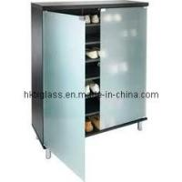 Cheap Frosted Glass Door for Shoe Cabinet (FSC-107) for sale
