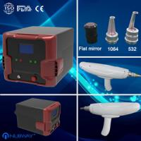 Cheap age pigment / freckle removal Q-switched Nd-yag laser machine for beauty salon for sale