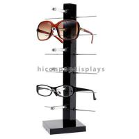 Cheap Countertop Colorful Waterproof Acrylic / Wood Sunglasses Display Rack wholesale