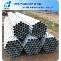Cheap Galvanized Scaffolding Tube 48.3 X2.55mm X6m export import China supplier made in China for sale