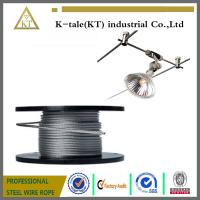 Cheap Wholesale galvanized steel Wire Rope, aircraft Cable 6mm 7*19 High Strength for sale
