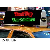 Cheap Mobile Outdoor Taxi Top Advertising LED Billboard Display With High Brightness Waterproof for sale