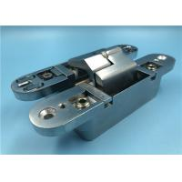 China Quiet Concealed Cabinet Door Hinges , Satin Invisible Hinges For Cabinet Doors on sale