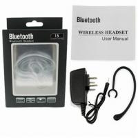 Cheap Stereo Bluetooth Headset with Multipoint function V3.0 EDR CR-ES02 for sale