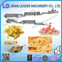 China Multi-functional wide output range corn flakes manufacturing process on sale