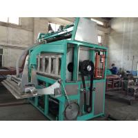 Cheap 5000pcs / Hour Egg Tray Moulding Machine Large Capacity Easy Maintenance for sale