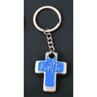 Cheap wholesale religious cross keychains custom personalized for sale
