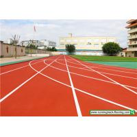 Cheap SSGsportsurface Full PU Mixed Recycled Rubber Running Track Playground Flooring for sale