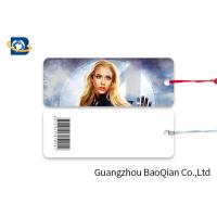Quality Giveaway Gifts Laminated Bookmarks , Bookmark Printing Services Super Hero Girls wholesale