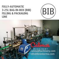 Cheap Fill-and-Pack Complete Bag-in-Box Line for 3-25L BiB Filling and Packaging for sale