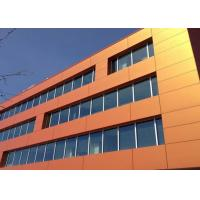 Cheap Hot-selling Pink / Blue / Red / Orange Color Aluminum Composite Wall Panels for sale