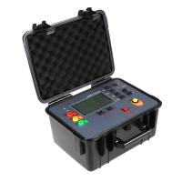 Cheap Auto Test Earth Ground Resistance Tester Kit 100V 30KΩ 128Hz Test Frequency for sale