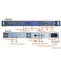 Cheap Indoor 19 inch 2 way or 4 way 45-862mhz Optical Receiver Made in China for sale