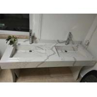 Cheap Quartz Stone Artifical Large Stone Slabs Countertop Vanity Snow White Color for sale