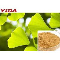 Cheap Ginkgo Biloba Leaf Extracted Natural Weight Loss Supplements Powder C15H18O8 for sale
