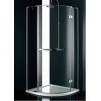 Cheap Stainless Steel Frame Glass Bathroom Shower Enclosures , B&Q Shower Cubicles For Home for sale