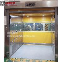 Cheap Fast rolling Door Air Shower for material Passing through for sale