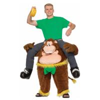 Cheap Brown Yellow Green Riding Animal Mascot Costumes Monkeying Around Costume for sale