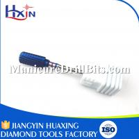 Buy cheap Blue Coating Carbide Electric Nail File Drill Bits Head Length 13mm Weight 100g from wholesalers