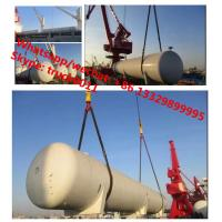 Cheap 2017s ASME standard 200,000Liters surface lpg gas storage tank for sale, factory sale 200m3 propane gas storage tank wholesale