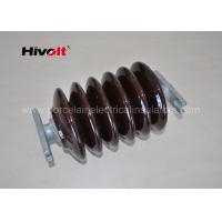 P70 Brown Color Polymer Station Post Insulators For Switch Parts