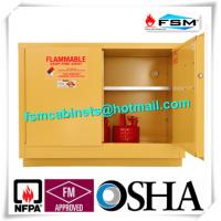 Flame Proof Hazmat Storage Cabinets Single Door For Cylinder / Paint / Chemical