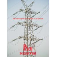 Cheap Self supporting steel lattice tower for overhead transmision lines for sale