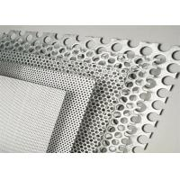 China Color Coated Decorative Perforated Aluminum Sheet Metal With Pvdf Coating on sale