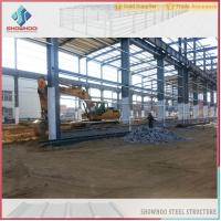 Cheap SHOWHOO Prefabricated Space Frame Metal Shed Build Steel Structure Factory Building for sale