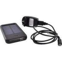 Cheap Portable Lithium-ion Battery 5W Solar Charger Outdoor Power Pack USB Battery for sale