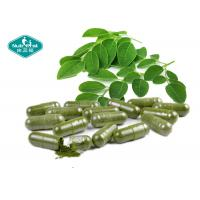 Cheap 500mg Moringa Oleifera Capsules / 100% Natural Appetite Suppressant For Weight Loss for sale