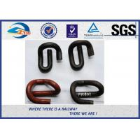 Quality Nabla Elastic Rail Clips in fastening systems , E clip / Skl Clip wholesale
