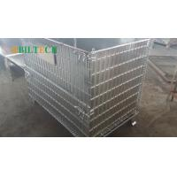 Cheap Warehouse 48 * 40 Pallet Rack Wire Decking , Industrial  42x46 Wire Decking for sale