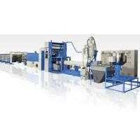 Cheap 350kg/H PP Flat Yarn Extrusion Line , PP Woven Bag Making Machine High Speed for sale