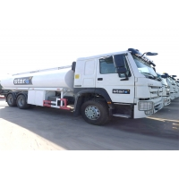 China Refueling HOWO 6x4 20m3 Oil Tank Truck on sale