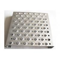 Cheap Traction Tread Aluminum Grip Strut Grating With Round Hole For Platforms Walkway for sale