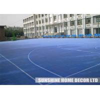 Cheap Plastic Tennis Court Flooring , Anti Slip Gym Flooring Surface, Multi-Game Courts for sale