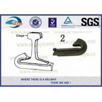 Quality Plain Surface Heavy Duty 45# Steel Rail Anchor 8.8 Grade For Fixing Rail wholesale