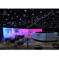 Cheap Pretty Lighting Onaments Luxury Wedding Tents with Anodized Aluminum Frame wholesale