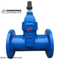 Cheap DIN3352 CAST IRON DUCTILE IRON DN100 PN16 GGG50 F5 WATER GATE VALVE for sale