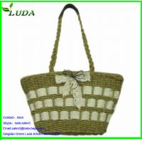 Cheap 2014 LUDA Best Sequin Selling Straw Bags for sale