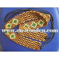China Wooden Beads Belt on sale